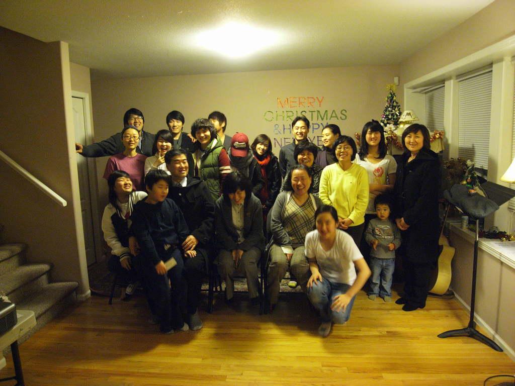 2012 송구영신예배 후 단체사진